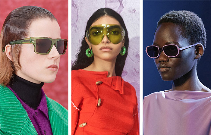 Модные очки от Prada, Acne Studios и Salvatore Ferragamo 2021-2022