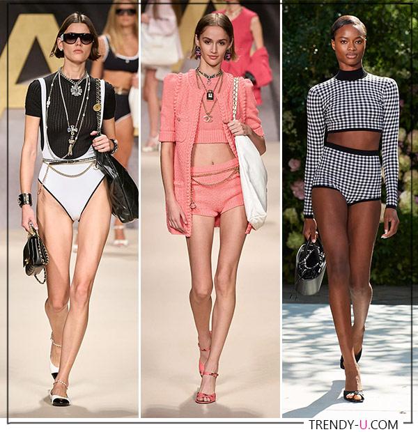 Образы от Michael Kors и Chanel весна-лето 2022. Нет, не для пляжа
