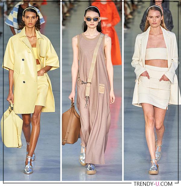 Летнее платье и костюмы в пастельных тонах от Max Mara 2022