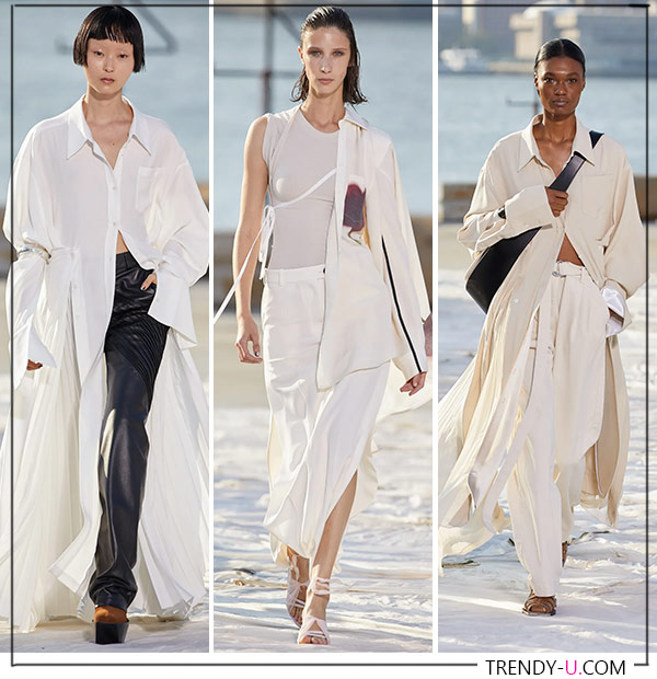 Белые одежды из весенне-летней коллекции Peter Do